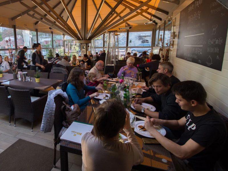 Restauracja Édeskert – w dobrym klimacie